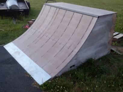 Large Skateboard Ramps