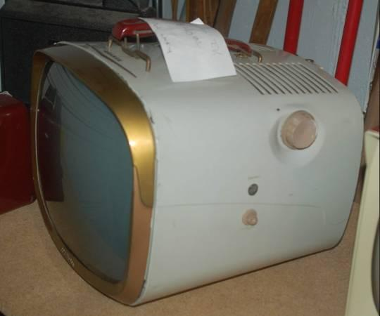 Early Portable Television  |1960s Portable Televisions