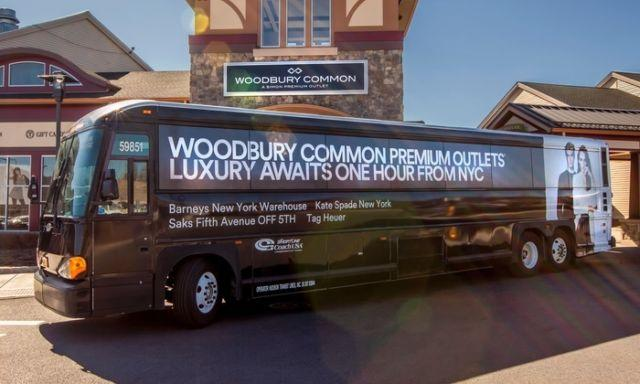 2 Round-Trip Tickets to Woodbury Common Premium Outlets