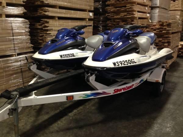 Sea Doo Jet Ski For Sale >> 2 - Sea Doo GTX 3 seaters Jet Ski's and trailer for Sale in Birnamwood, Wisconsin Classified ...