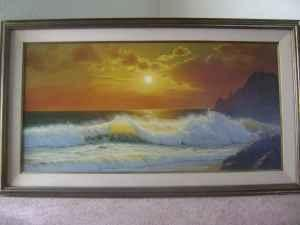 2 Signed Anthony Casay Paintings Ea Ocala For Sale In