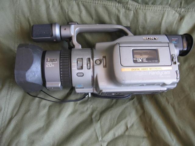 2 Sony 3 chip digital cameras