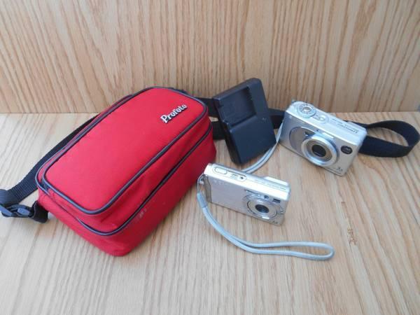 2 Sony digital cameras w case - $20