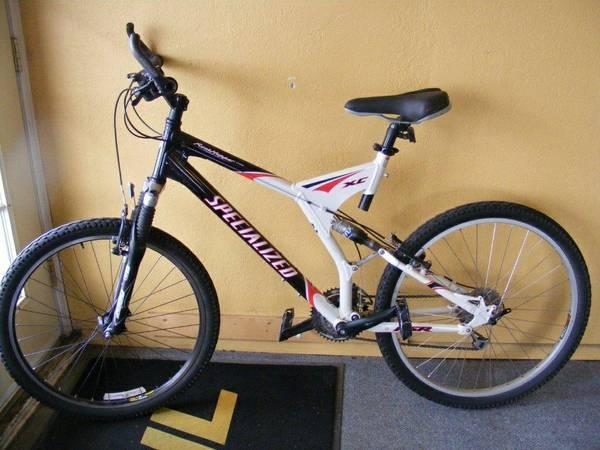 2 Specialized bikes, full suspension - $685