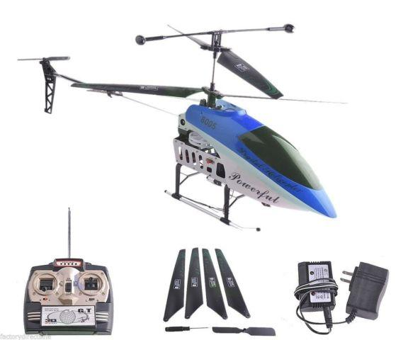 2 Speed GT QS8005 3.5 Ch RC Helicopter Builtin GYRO