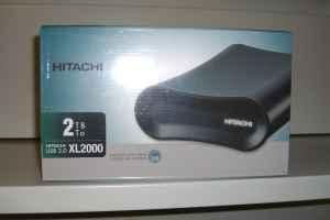 2 TB Hitachi Hard Drive Enclosure New In Sealed Box - $100 North Lincoln