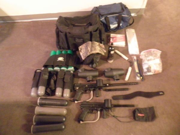 2 Tippmann A-5 Guns w TONS of Accessories - $450 1601 South 64th Street Omaha, NE