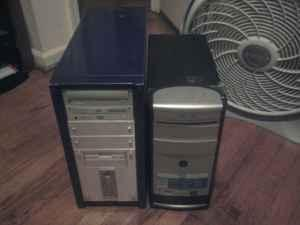 2 Towers, dell keyboard & dell optical mouse (Se