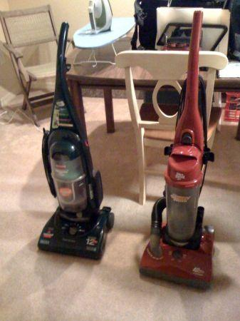 2 Vacuum Cleaners - Bissell and/or Dirt Devil (Bagless ...