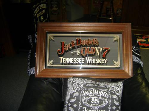 2 Vintage Jack Daniels Mirrors For Sale In Jonesboro