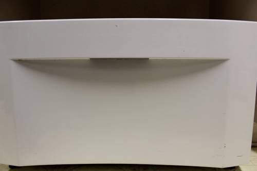 2 White Washer and Dryer Pedestals