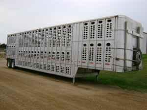 2 Wilson Cattle Pots - Livestock Trailers (Schleswig