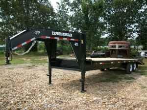 20+5 gooseneck flatbed trailer - $4995 (mtn. grove mo)