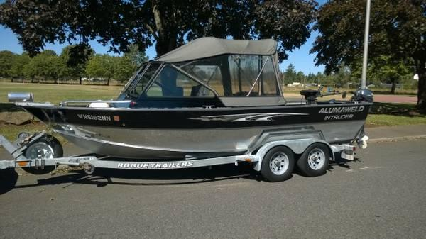 20 Alumaweld Intruder Jet Boat For Sale In Portland