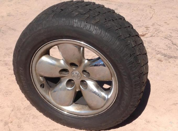 20 Dodge Ram wheels with tires