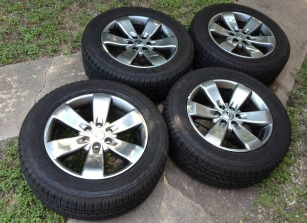 """Ford F150 Factory Rims For Sale >> 20"""" F150 F-150 Factory OEM Wheels Rims Like New Bridgestone Tires Ford - for Sale in Austin ..."""