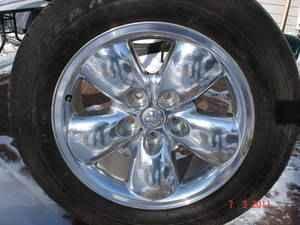 20 five spoke rims and tires - $400 SE Denver