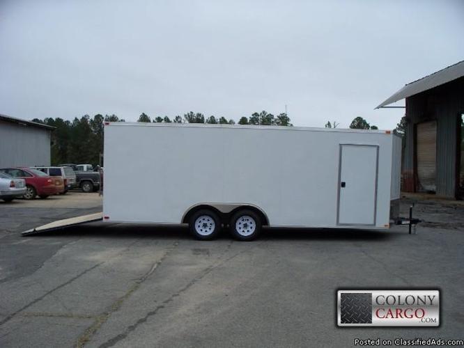 20 foot car hauler enclosed trailer all tube frame for sale in birmingham alabama. Black Bedroom Furniture Sets. Home Design Ideas