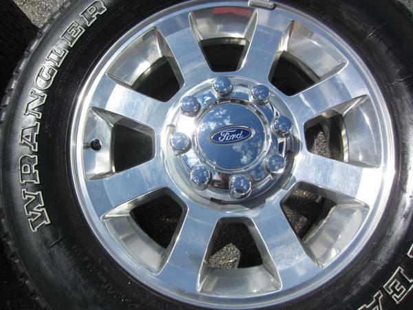 "Used Ford F250 For Sale >> 20"" FORD F250 F350 RIMS & TIRES 275/65/20 GOODYEAR ..."