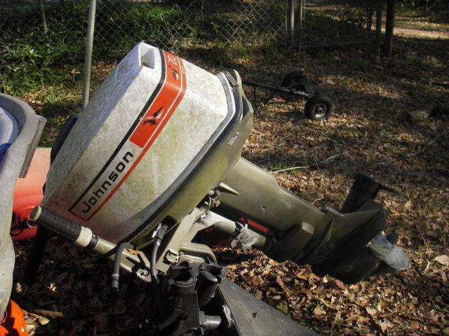 20 hp johnson outboard motor for sale in alachua florida for Boat motor parts near me