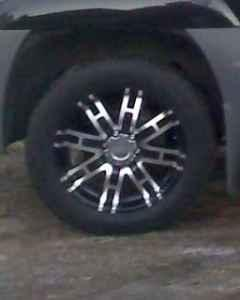 20 inch Black  Chrome rims and tires - $1000 Axson GA