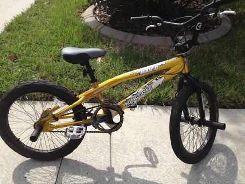20-inch Boys Mongoose Hoop D BMX Bike