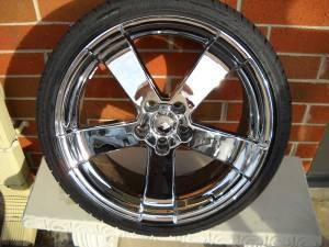 20 inch lexus chrome wheels and tires - $1000 rad performance