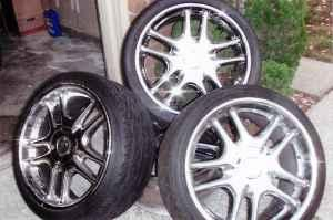 20 inch Rims and Tires - $750 (Folsom )