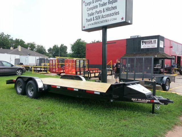 20 39 magnum flatbed heavy duty equipment car hauler trailer. Black Bedroom Furniture Sets. Home Design Ideas