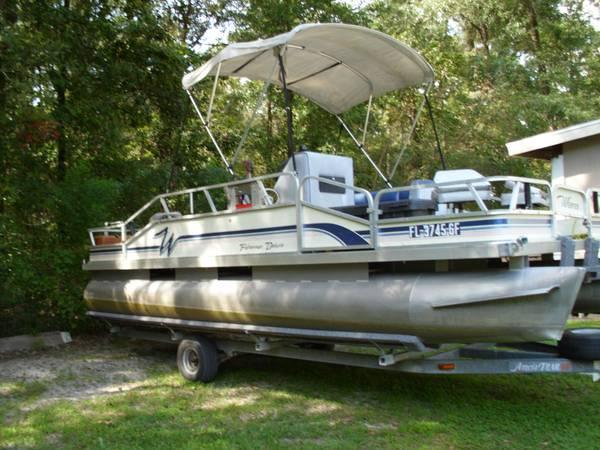 20 Weeres Pontoon Fisherman Deluxe For Sale In Orlando