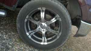 20'' wheel with tires - $1100 (camp