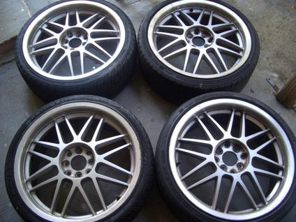 18 silver racing rims honda civic 4x100 universal 4 lug wheels for sale in west palm beach. Black Bedroom Furniture Sets. Home Design Ideas