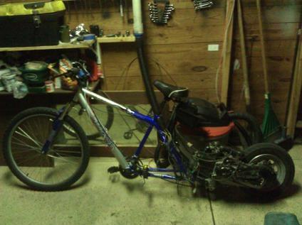 $200, 80cc GY6 Drag Bike