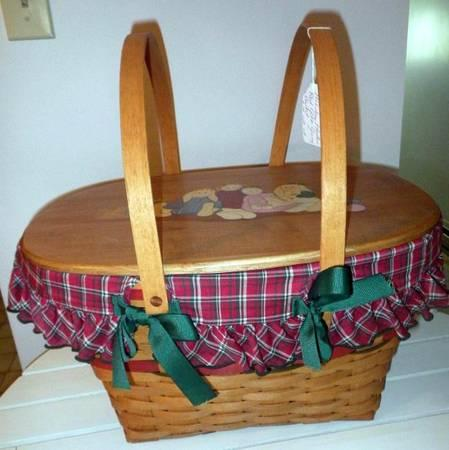 200 Longaberger Baskets For Sale In Aqua