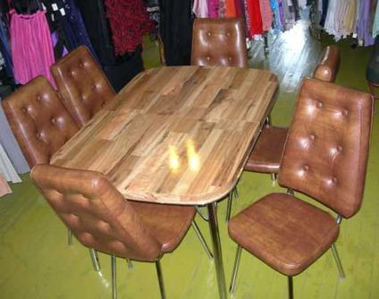 Vintage Imperial Dinette Table 6 Chairs For Sale In Cincinnati