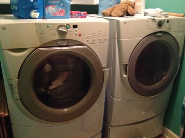 Whirlpool duet washer dryer set for sale in effingham south carolina classified - Whirlpool duet washer and dryer ...