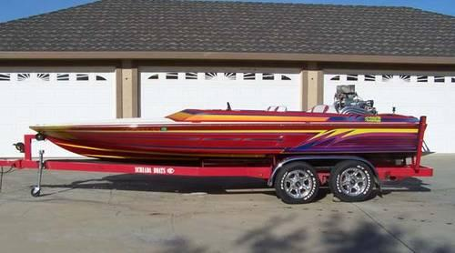 2000 21' Schiada V-Drive River Cruiser