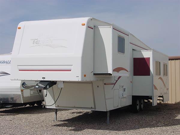 2000 32 Fleetwood Terry M32sd 5th Wheel Te6782u For