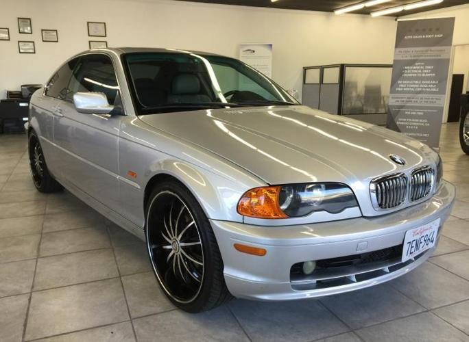 2000 bmw 328ci 2dr sport coupe silver loaded low miles 20 rims for sale in gold river. Black Bedroom Furniture Sets. Home Design Ideas