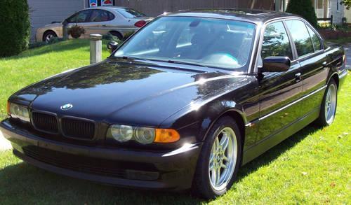 2000 bmw 740i sport black on black 78 000 mi 740il 740li for sale in lowell michigan. Black Bedroom Furniture Sets. Home Design Ideas