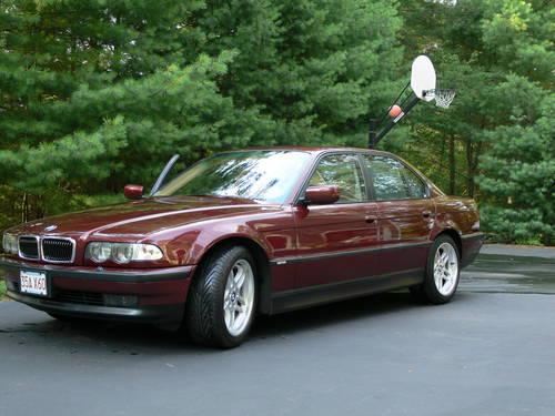 2000 bmw 740i sport e38 royal red for sale in norton massachusetts classified. Black Bedroom Furniture Sets. Home Design Ideas