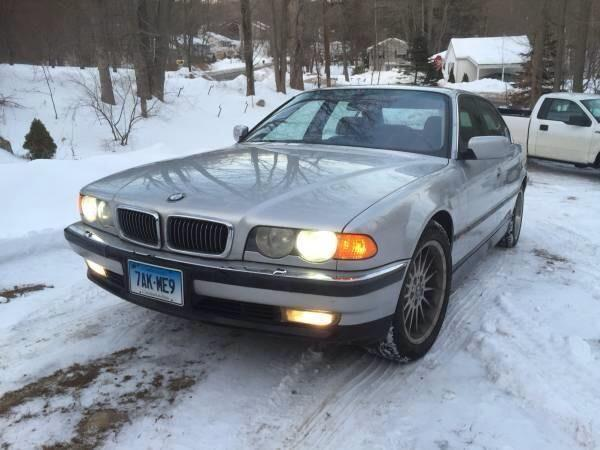 2000 bmw 740il e38 loaded 740 for sale in beacon falls connecticut classified. Black Bedroom Furniture Sets. Home Design Ideas
