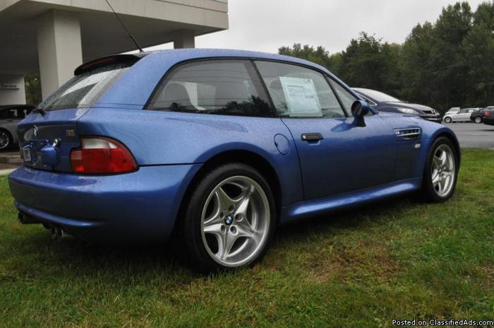 2000 Bmw M Z4 Coupe 1 Owner Clean Car Fax 5 Speed