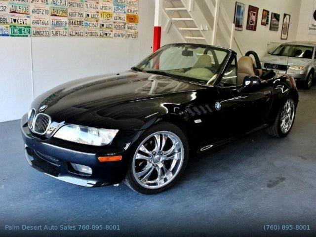 2000 Bmw Z3 2 8l Metallic Black Convertible 114 300mi For Sale