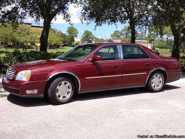 2000 cadillac deville loaded sedan automatic clean for sale in fort myers florida. Black Bedroom Furniture Sets. Home Design Ideas