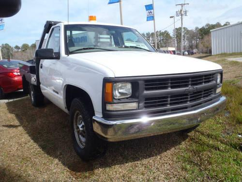 2000 chevrolet c k 2500 flat bed pick up truck for sale in neuse forest north carolina. Black Bedroom Furniture Sets. Home Design Ideas