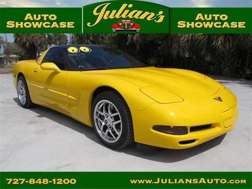 Julians Auto Showcase >> 2000 Chevrolet Corvette Two-Door Coupe Millenium Yellow for Sale in New Port Richey, Florida ...