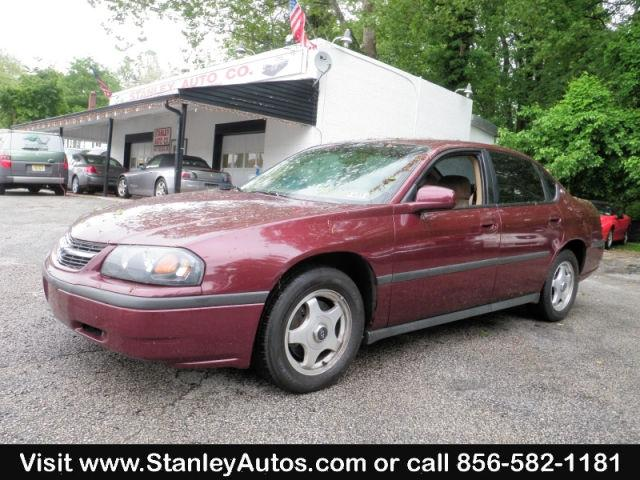 2000 chevrolet impala for sale in sewell new jersey classified. Black Bedroom Furniture Sets. Home Design Ideas