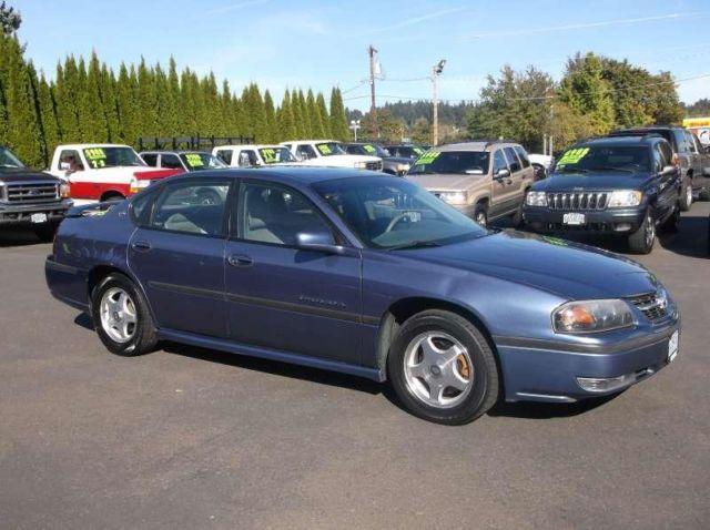 Bickmore Auto Sales >> 2000 Chevrolet Impala LS for Sale in Gresham, Oregon ...