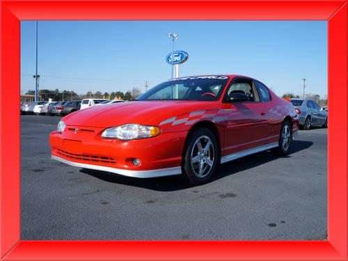 2000 chevrolet monte carlo coupe ss pace car for sale in lexington north carolina classified. Black Bedroom Furniture Sets. Home Design Ideas